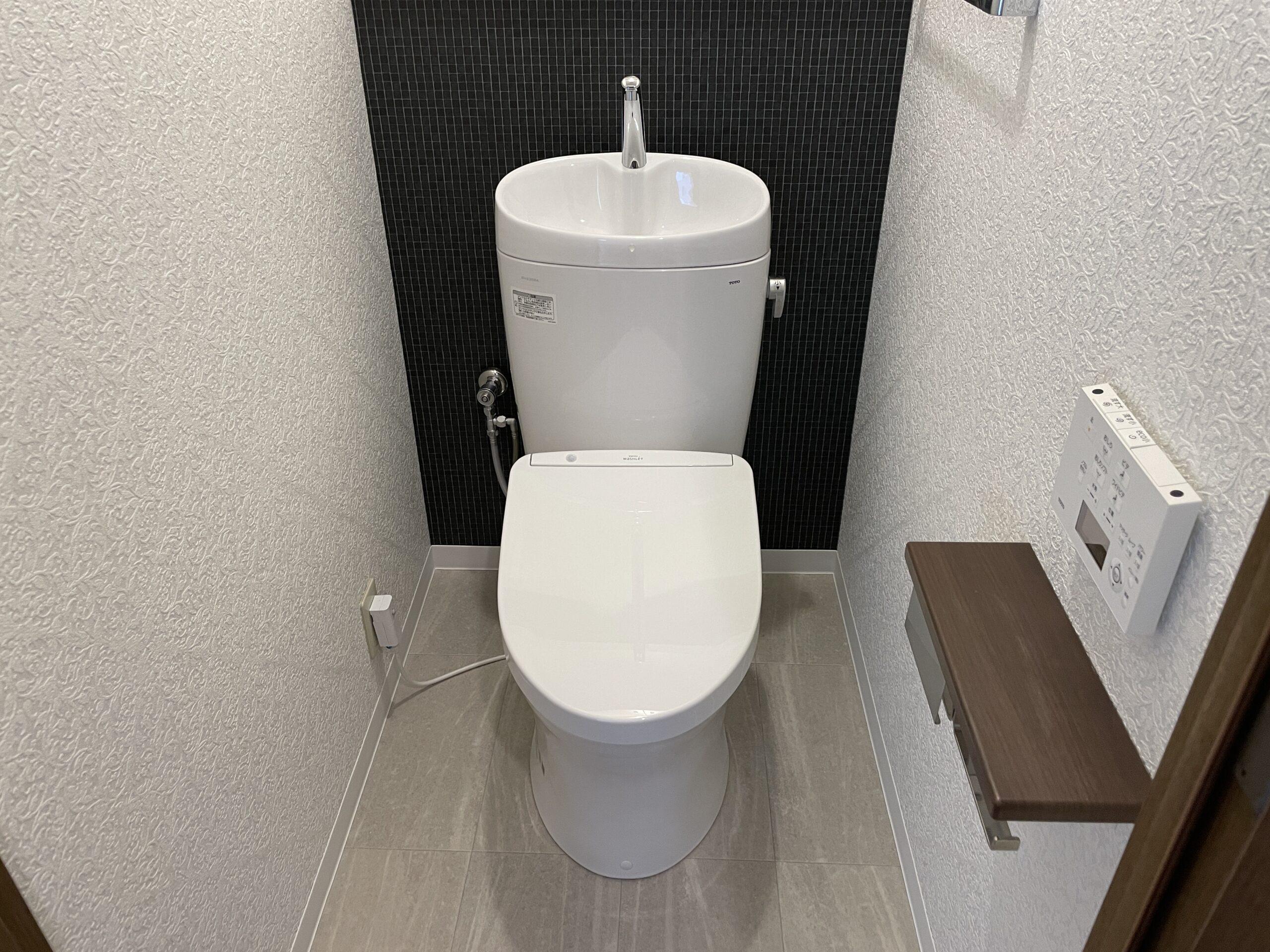 東住吉区 トイレ取替 施工後①