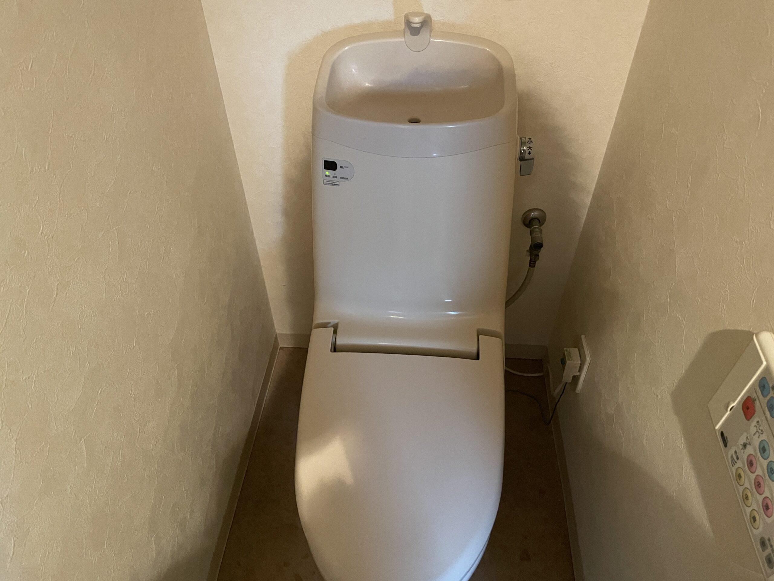 中央区 一体型トイレ 施工前①