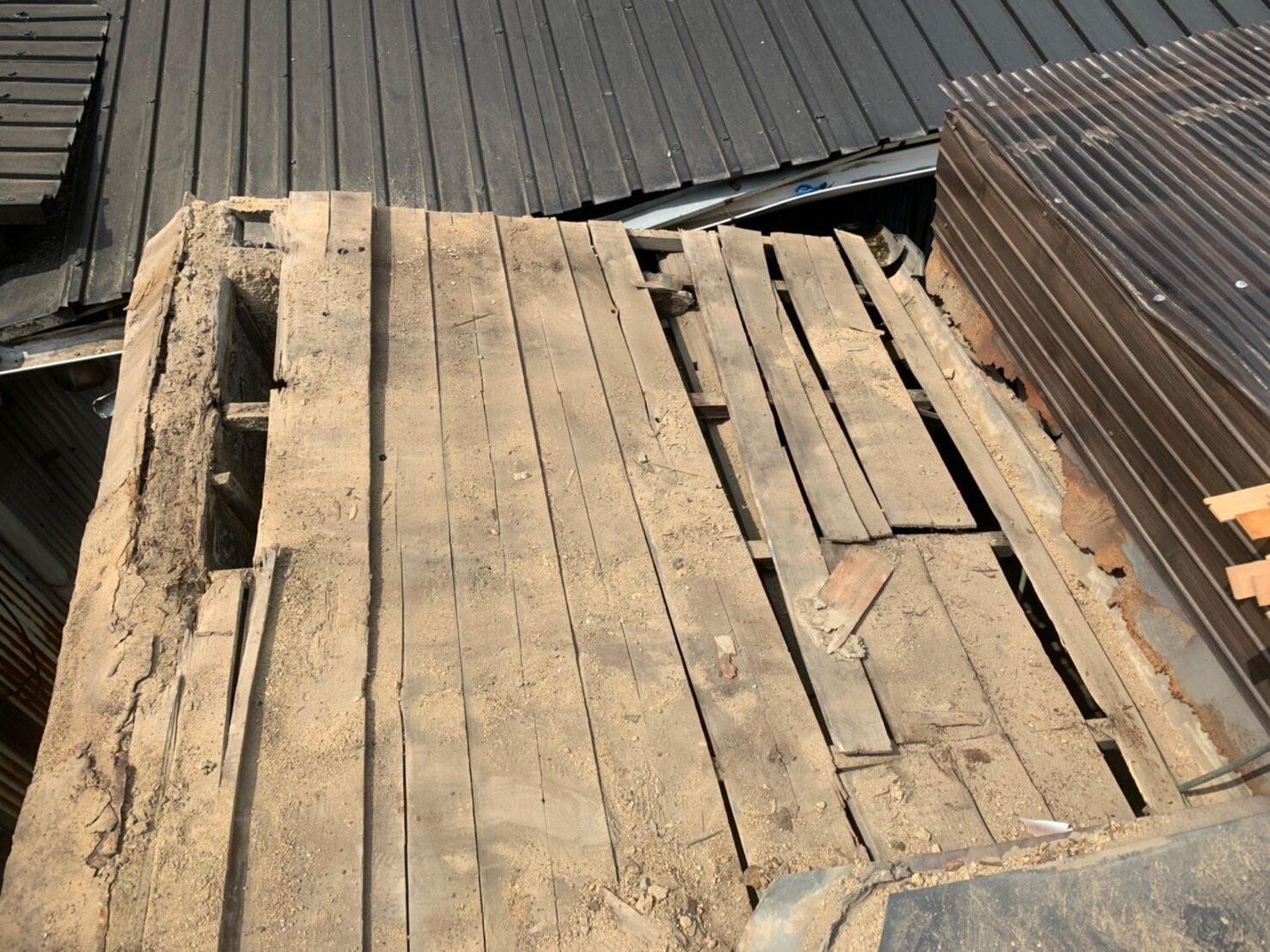 東住吉区 屋根工事 施工前④