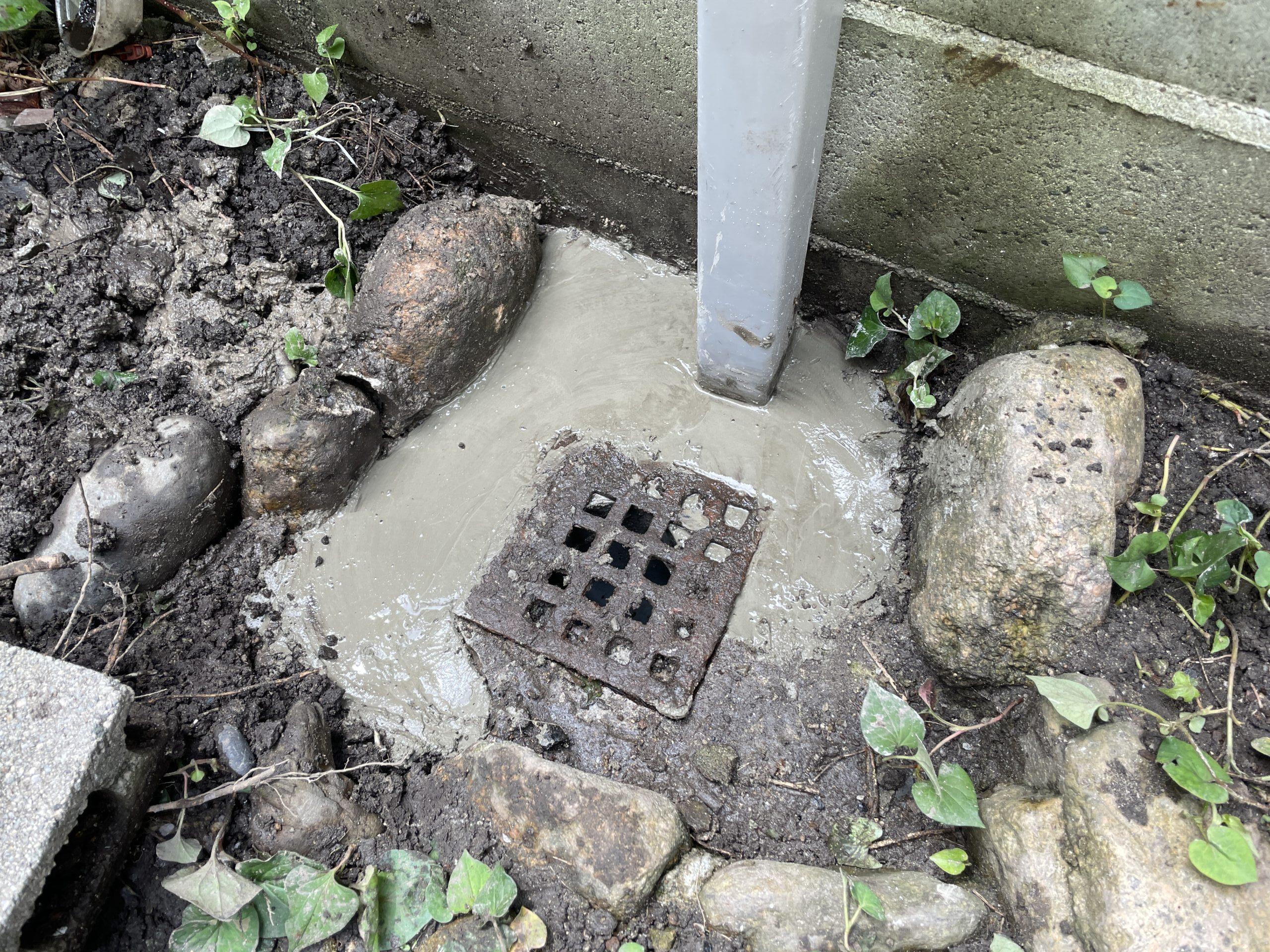 東住吉区 散水栓 施工後②