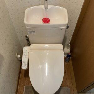 阿倍野区 トイレ取替 施工後①