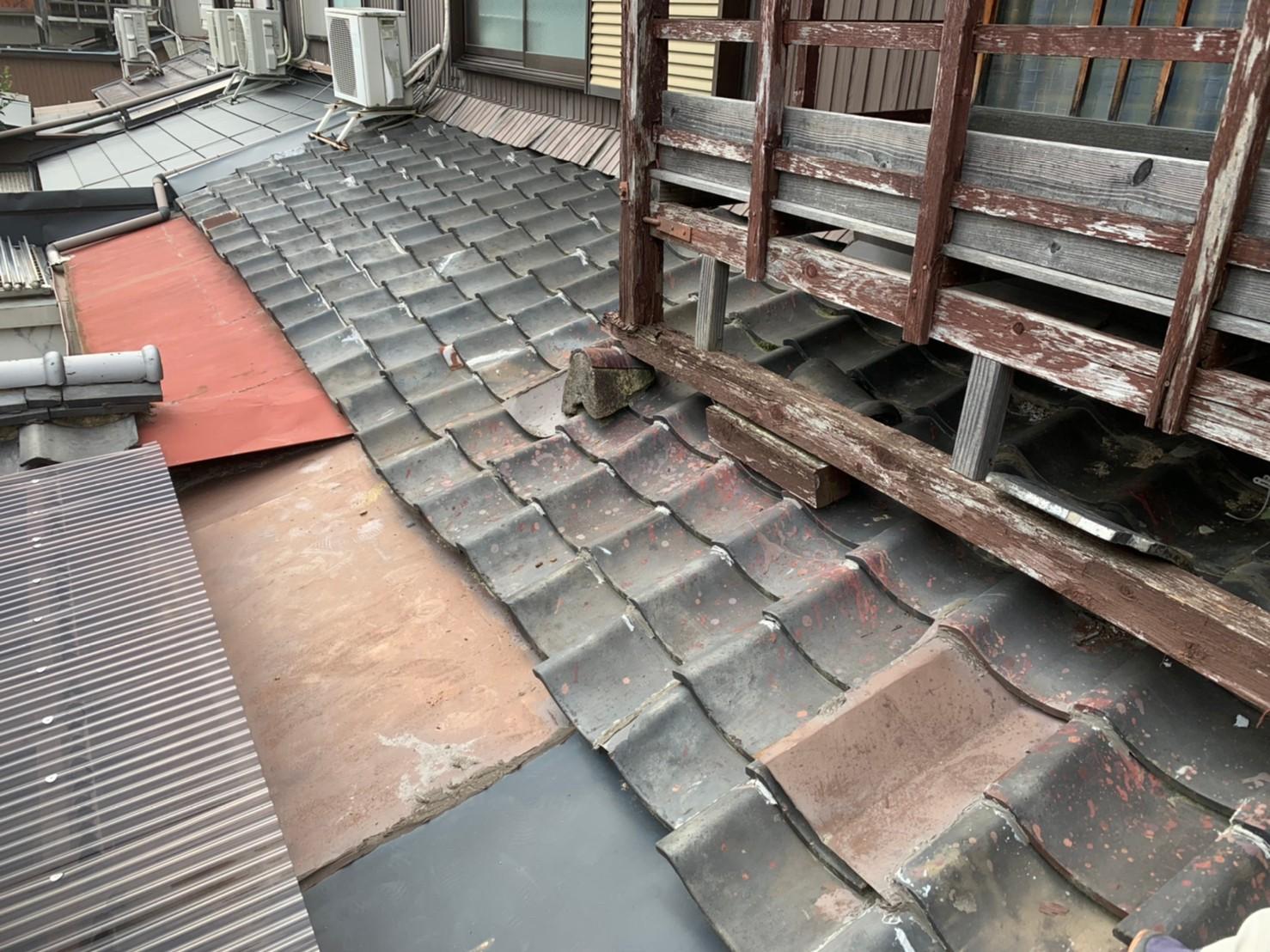 東住吉区 屋根工事 施工前⑩