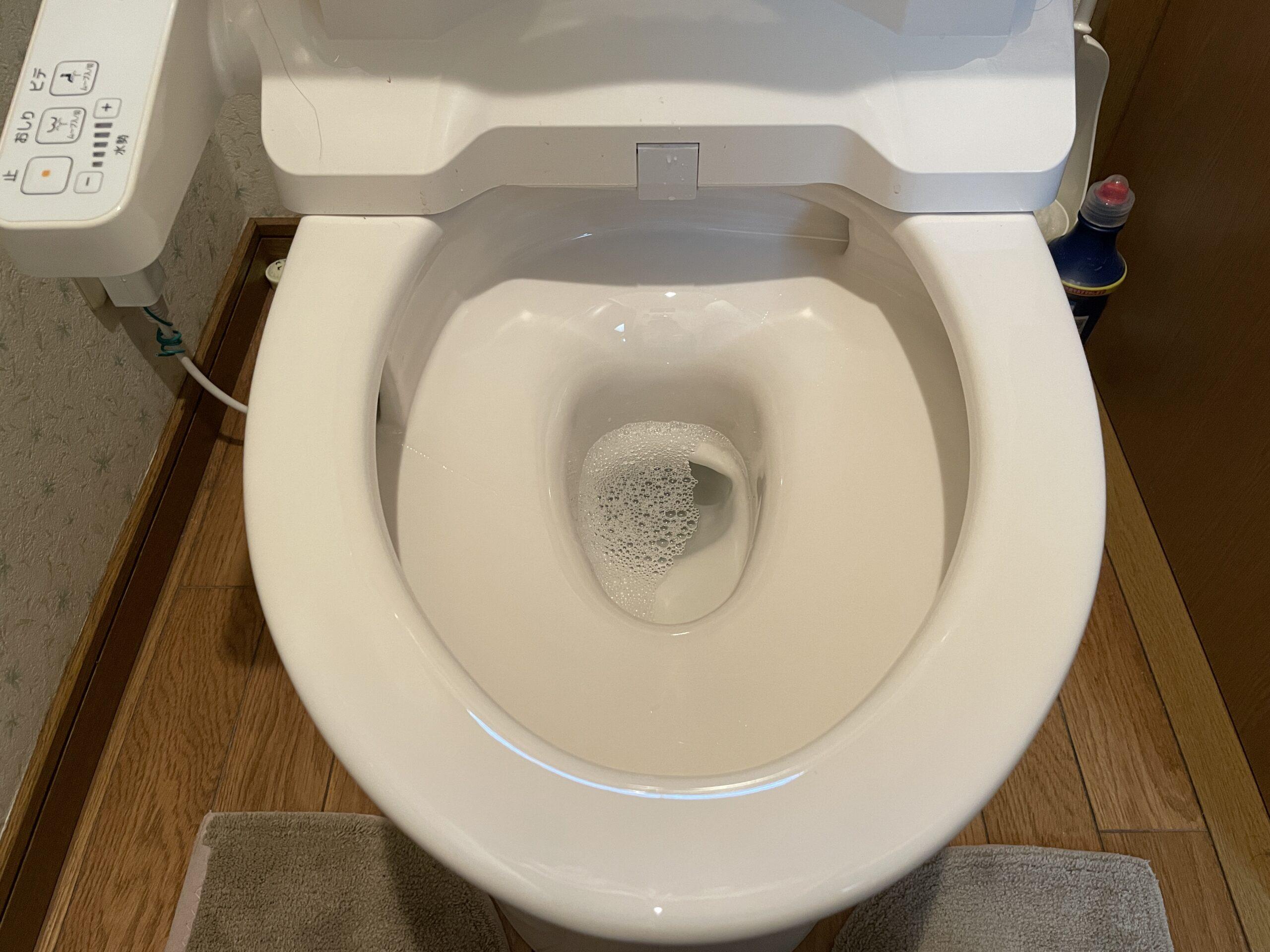 阿倍野区 トイレ取替 施工後②