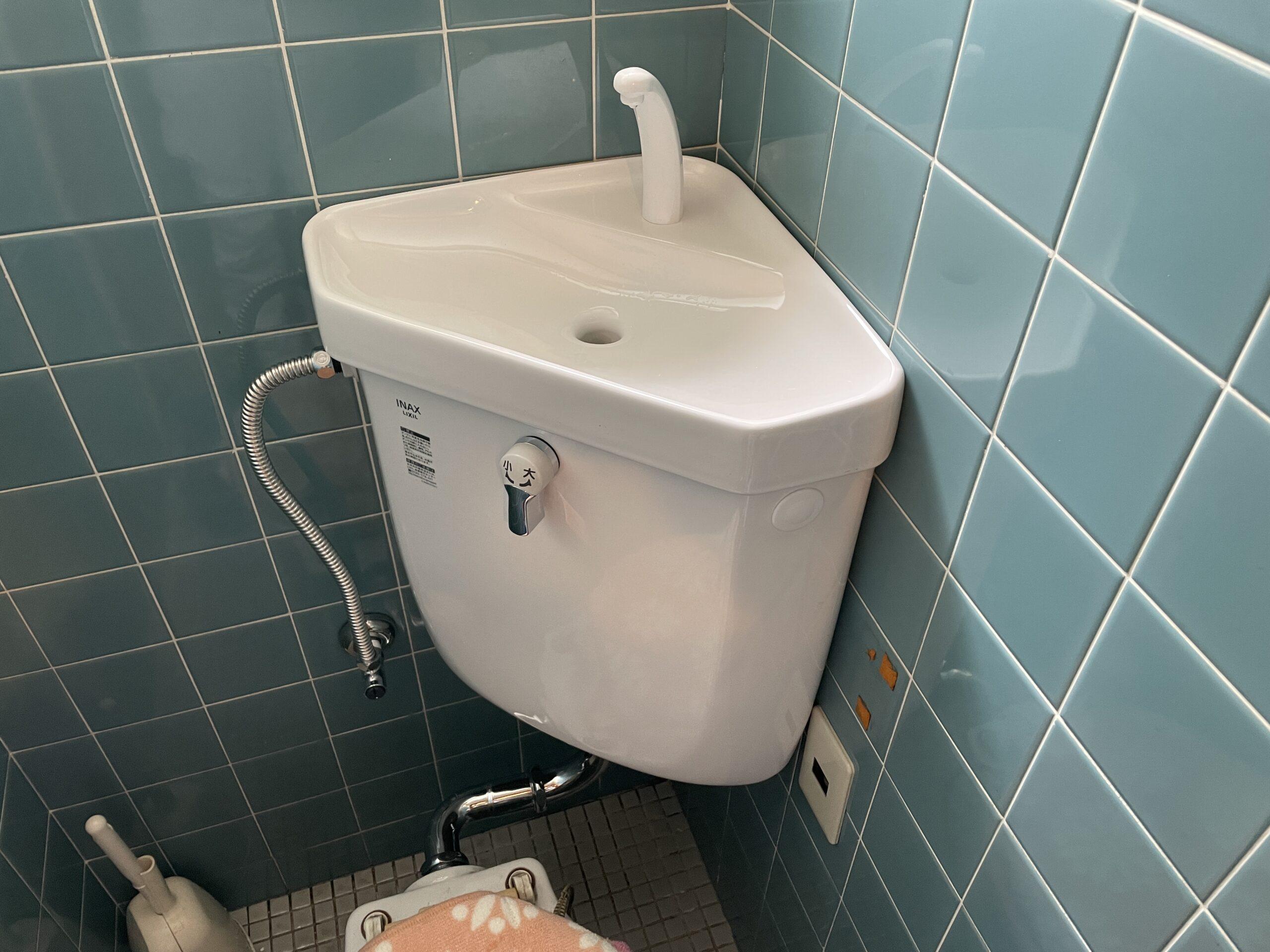 阿倍野区 トイレタンク 施工後②