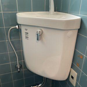 阿倍野区 トイレタンク 施工後①