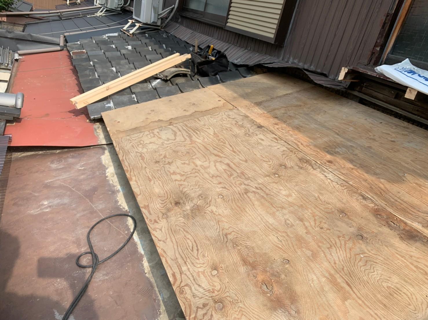 東住吉区 屋根工事 施工前⑤