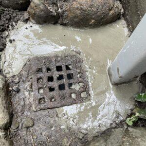 東住吉区 散水栓 施工後①
