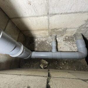 天王寺区 水漏れ修理工事 施工後①