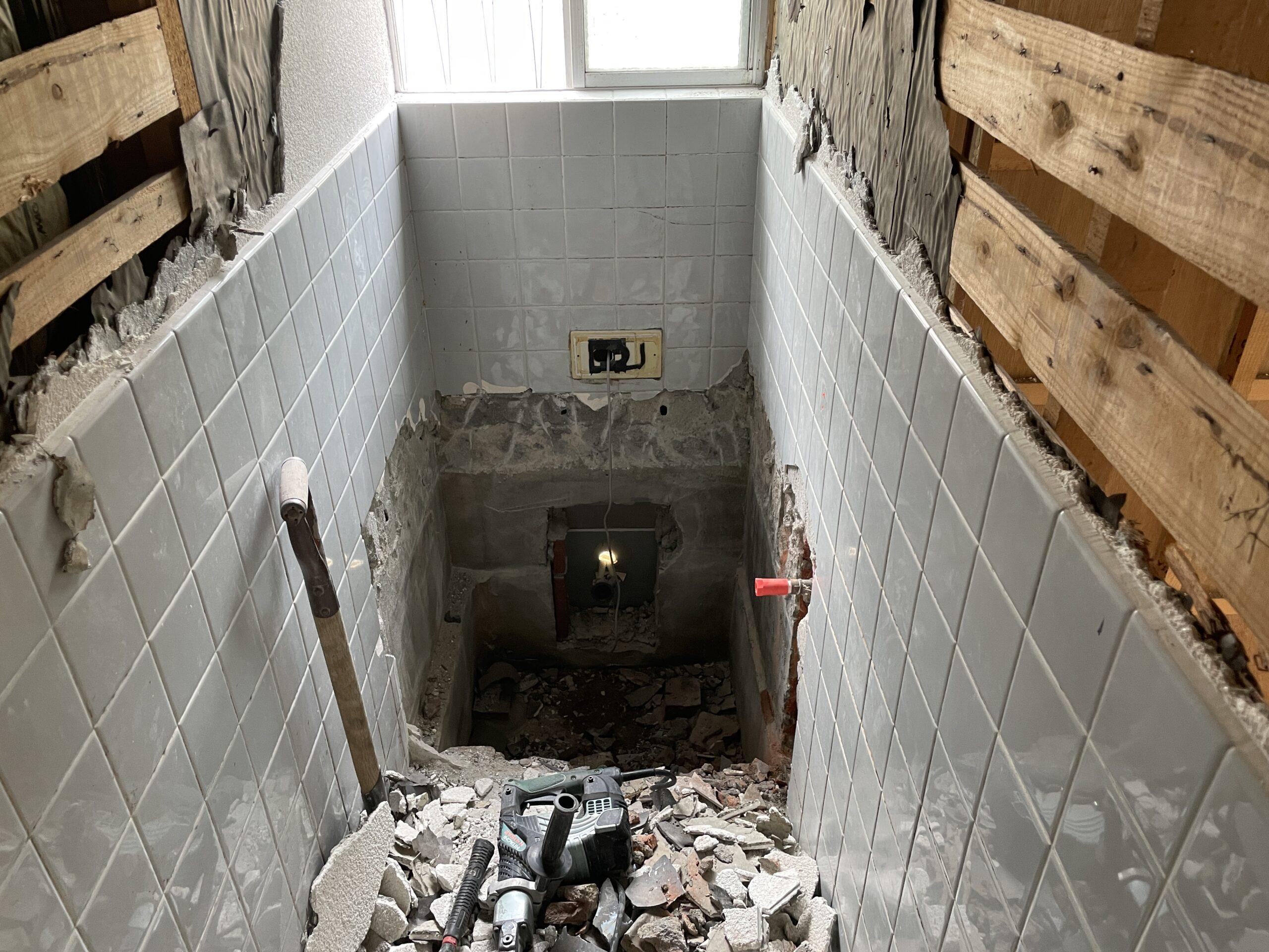 神戸市灘区 浴室リフォーム 施工前①