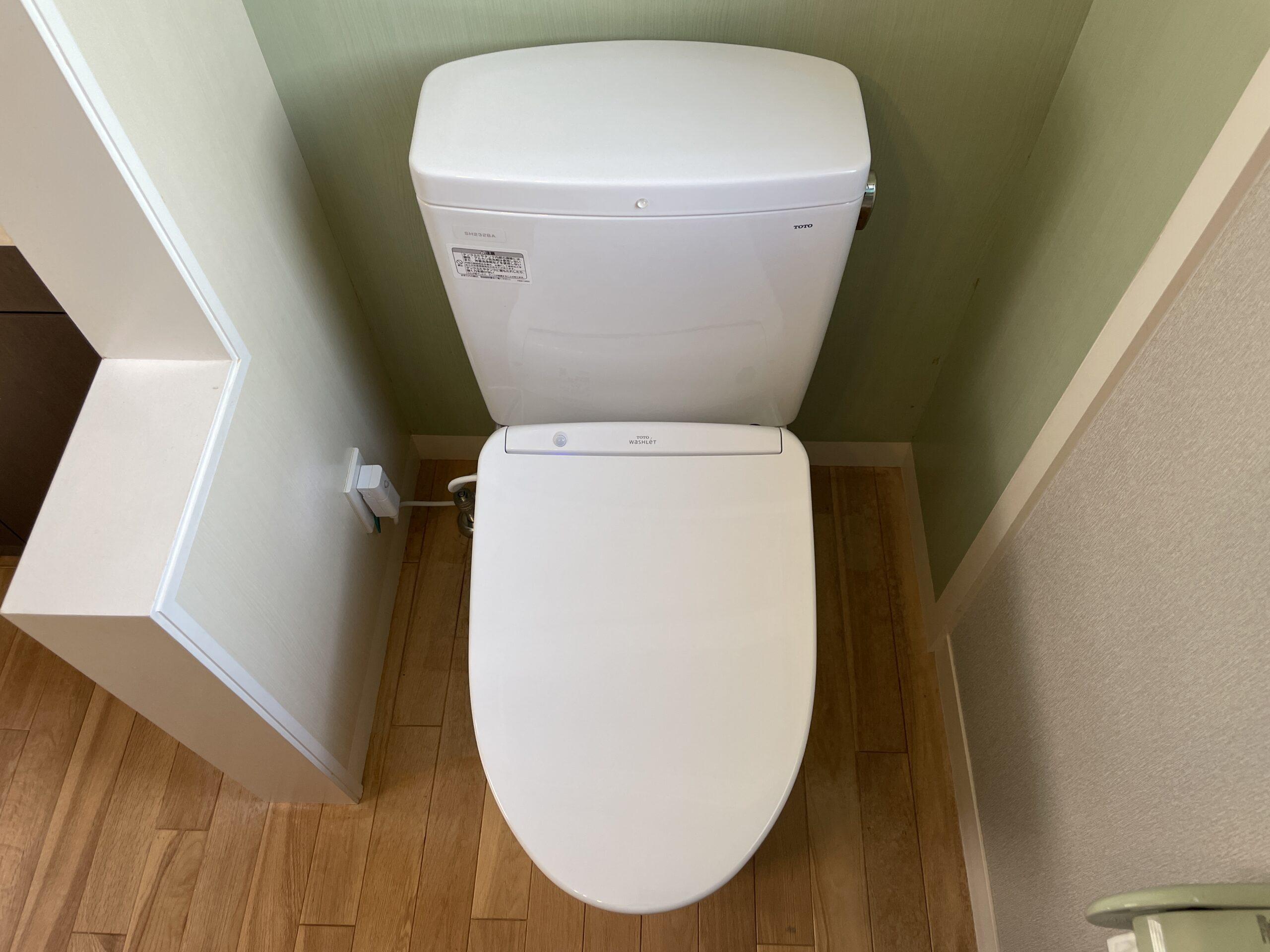 天王寺区 洋式トイレ 施工後②