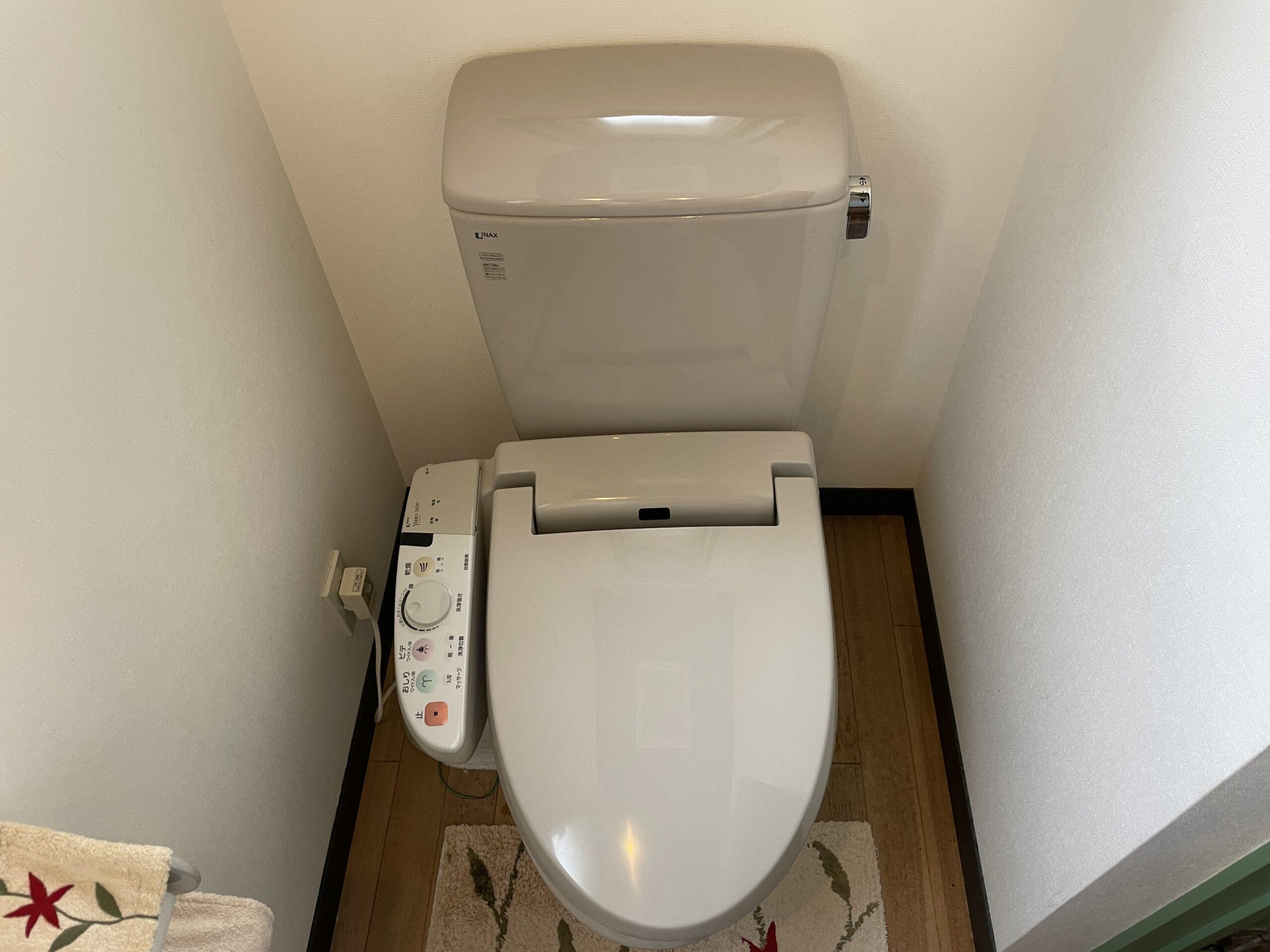 天王寺区 洋式トイレ 施工前②