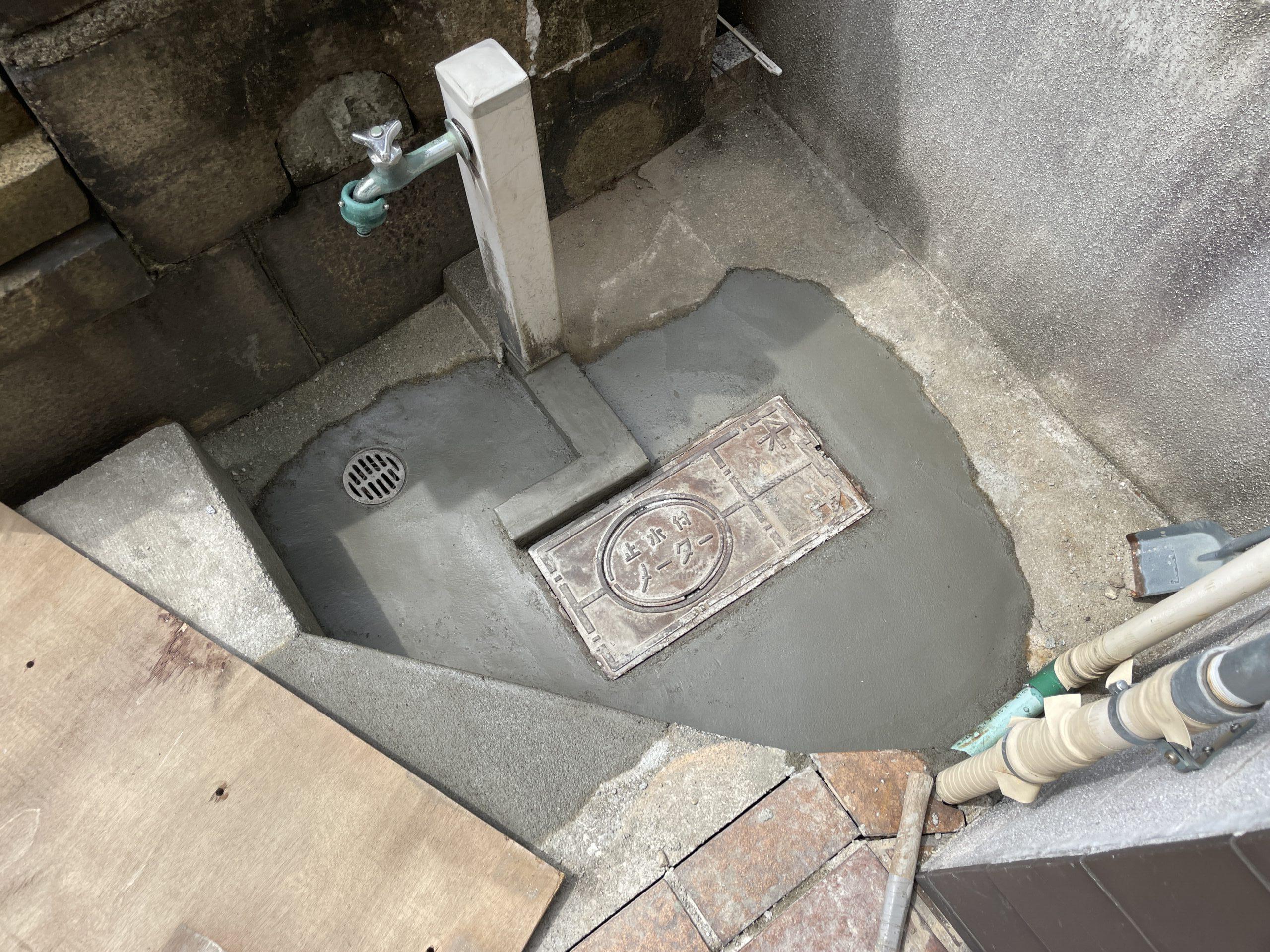 天王寺区 水漏れ修理 施工後⑤