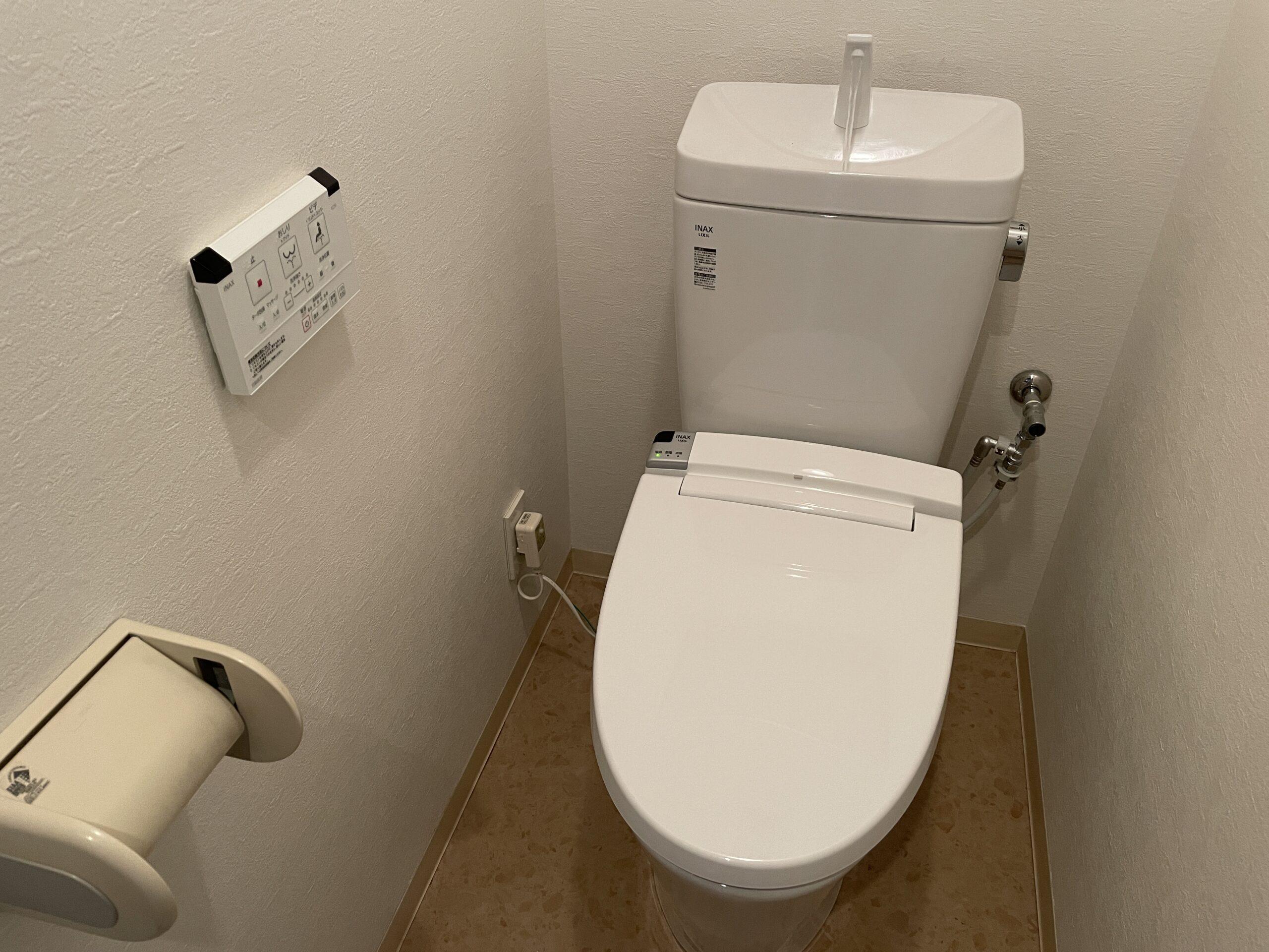 中央区 洋式トイレ 施工後②